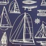 Nautical (made from Solarium outdoor fabric)