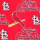 Baseball (made from St. Louis Cardinals fleece)