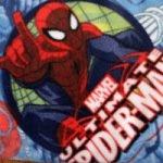 Superhero (made from Marvel Comics Spiderman fleece)