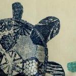 Sea Turtle (made from Solarium outdoor fabric)